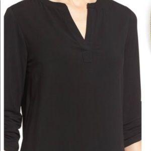 Pleione Black 3/4 sleeve top size Medium
